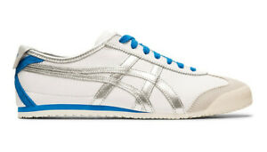 Onitsuka Tiger Mexique 66 Baskets Blanc Argent Pur ASICS cuir 1183A788-102