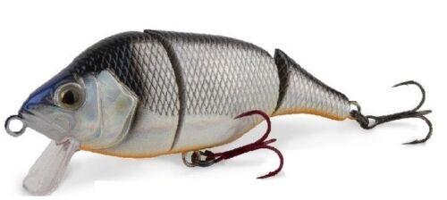 achigan pêche brochet Fox Rage Pro Series dur Leurres Hitcher articulé 10cm