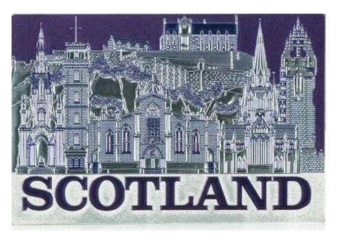Scotland Fridge Magnet Landmarks Collage Montage Scottish Edinburgh Castle Scene