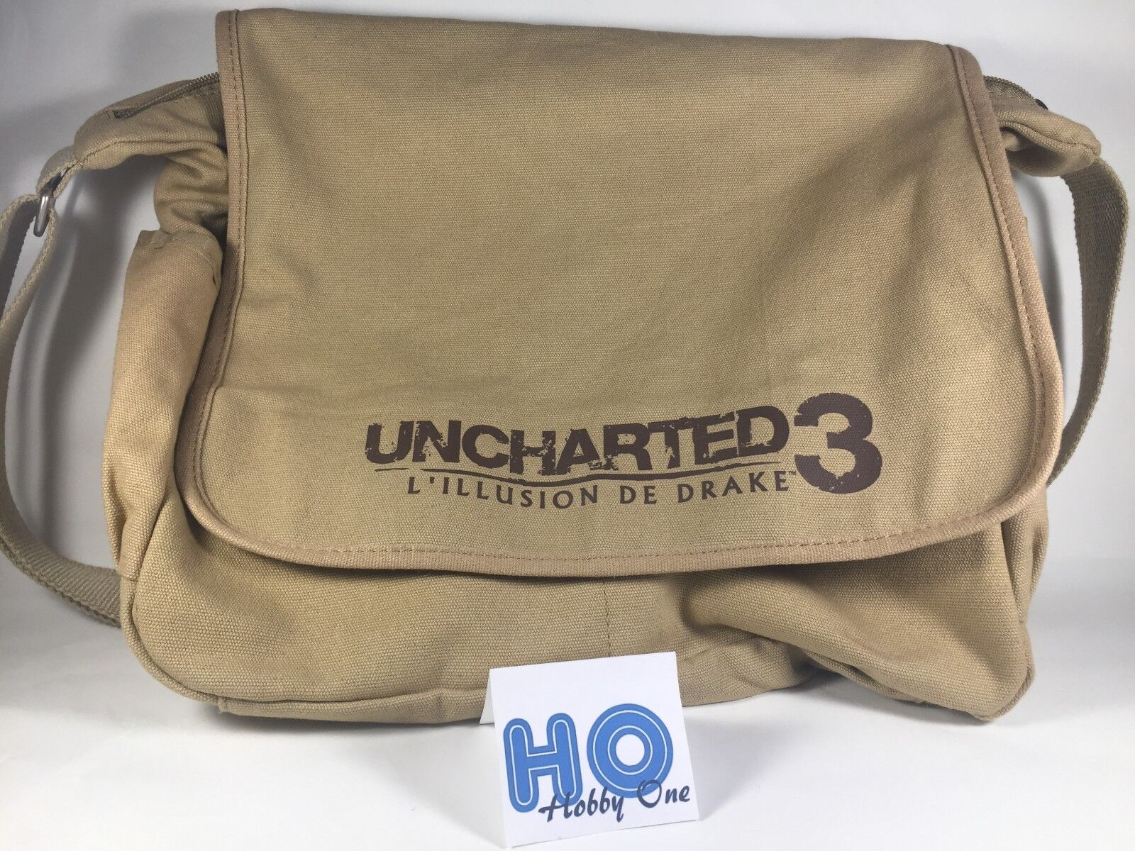 Sac   Besace - Uncharted 3   L'illusion de Drake - PS3 - Comme neuf - RARE