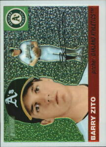 2004 Topps Heritage Chrome #THC18 Barry Zito /1955 - NM-MT