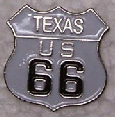 Oklahoma Hat Lapel Pin Push Tie Tac Route 66 The Mother Road NEW shield