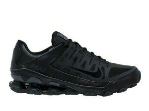 Nike Men Reax 8 TR Mesh Black Gray Cross Trainers Gym Shoes 621716-008 Size 10.5