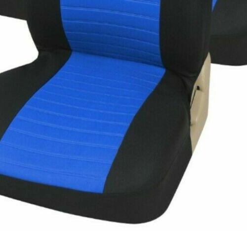 Fundas para asientos negra para Toyota Avensis asiento del coche delante de referencia