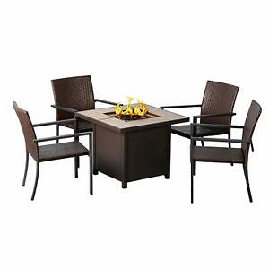 Bali-Life-Outdoor-32-034-Square-Table-Gas-Fire-Pit-4-Dining-Rattan-Wicker-Chairs