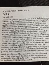 m1-3 ephemera 1984 pub article The Pub Bell Walberswick Stanshall