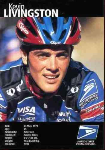 Kevin LIVINGSTON US Postal Service USPS 99 cycling team cyclist american champ
