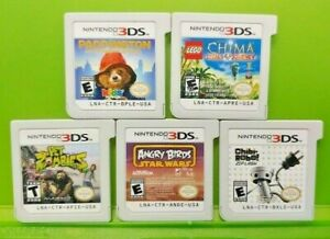 Lego-Chima-Paddington-Zombies-Chibi-Angry-Bird-Nintendo-DS-Lite-3DS-2DS-Game-Lot