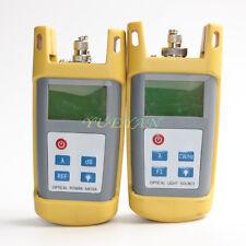Fiber Optic Multimeter Tester Optical Power Meter Laser Light Source 13101550nm