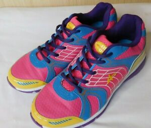 colorful athletic shoes