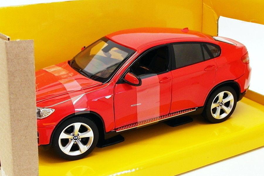 Rastar 1 24 Scale Diecast Model Car 41500 - BMW X6 - rouge
