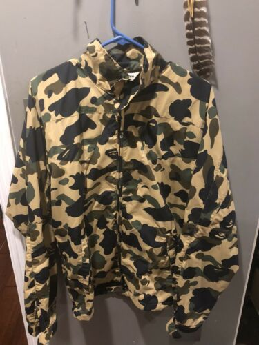Bape Yellow Camo Jacket