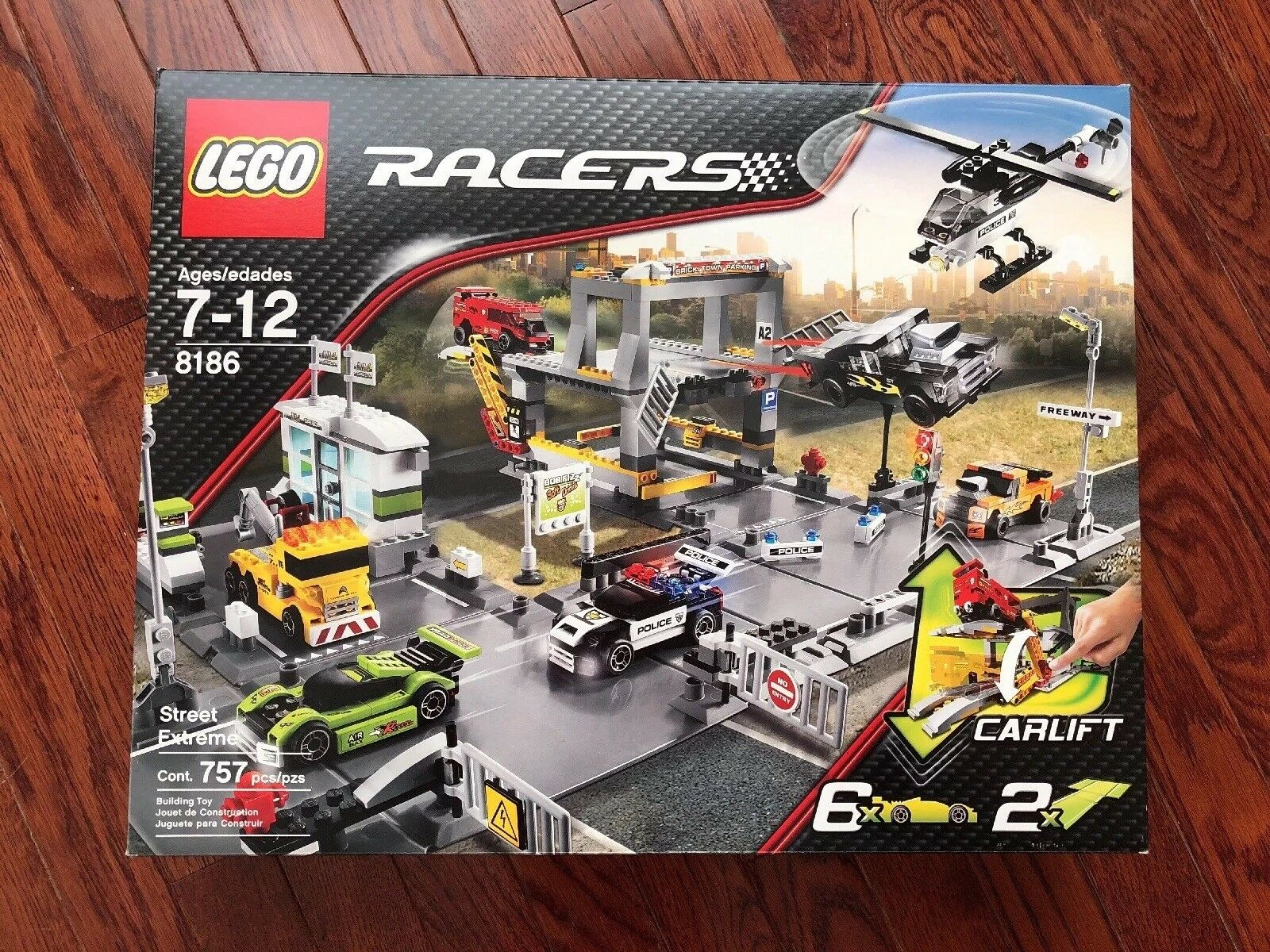 NEW Lego 8186 Racers Street Extreme, SEALED