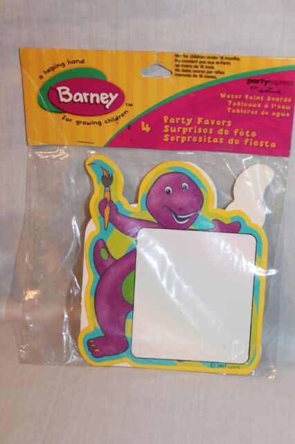 NEW IN PACKAGE 25 BARNEY LOOT BAGS PARTY SUPPLIES