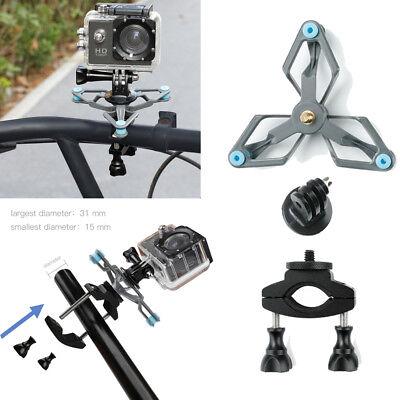 Manillar de Bici Bicicleta Mount Holder Soporte Para GoPro accesorios de la Cámara