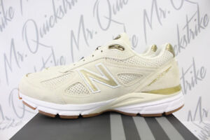 pretty nice dae97 8fe34 Details about NEW BALANCE 990 MADE IN USA SZ 13 ANGORA OFF WHITE GUM BROWN  M990AG4