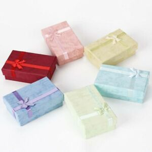 6PCs-Romantic-Jewelry-Box-Pendant-Case-Display-Earring-Necklace-Ring-Box-yz