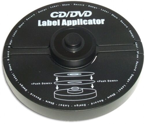 cddvd label applicator for easily applying labels ebay