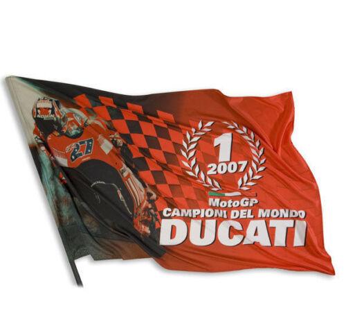 Ducati Corse Moto Gp Flag Banner Casey Stoner New