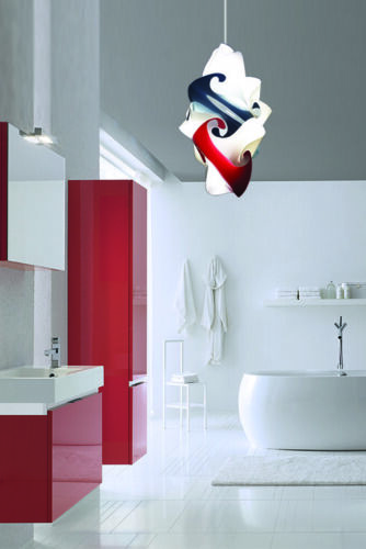 OFFERTA illuminazione lampadario design moderno SENSITIVE   2 abatjours colorate