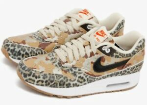 brand new 8aca0 14ba9 Image is loading Nike-Air-Max-1-87-Atmos-Leopard-Camo-. Image not ...