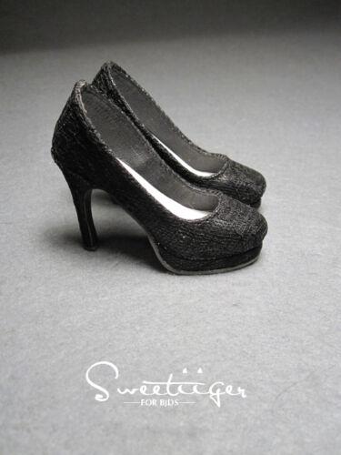 【Tii】1//3 BJD shoes black lace SD16 sdgr lolita outfit super dollfie fee DD Luts