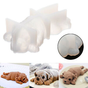 3D-Dog-Shape-Silicone-Mold-Mousse-Cake-Chocolate-Jelly-Decoration-Baking-Mould
