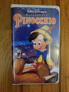 Pinocchio-Walt-Disney-039-s-Masterpiece-1993-VHS-Video