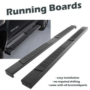 """Ici Magnum Rt Steps >> For 2015-2020 Chevy Colorado Crew Cab Black 6"""" OE Running Boards Side Step Bars 