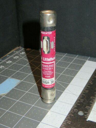 15 Amp 75-600 AC//DC Littelfuse UL Class RK5 Fuses 30 IDSR Series 6-1//4 20