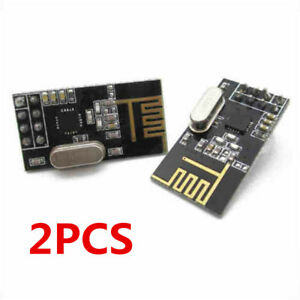 2PCS-Arduino-NRF24L01-2-4GHz-Wireless-RF-Transceiver-Module-New-U