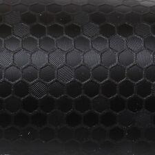 (39,45€/m²) 25cm x152cm Oracal 975HC Honeycomb 070 Noir Film auto Protection 3D