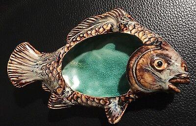 Ceramic handmade jewellery fish dish