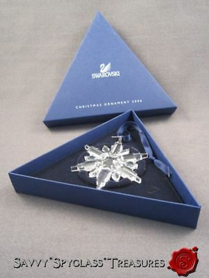 MIB 2006 Swarovski Crystal Snowflake Star Christmas ...
