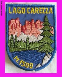 Sk493 Patch Ski Lago Carezza 1500m Ztwcpnwr-07234040-520481152