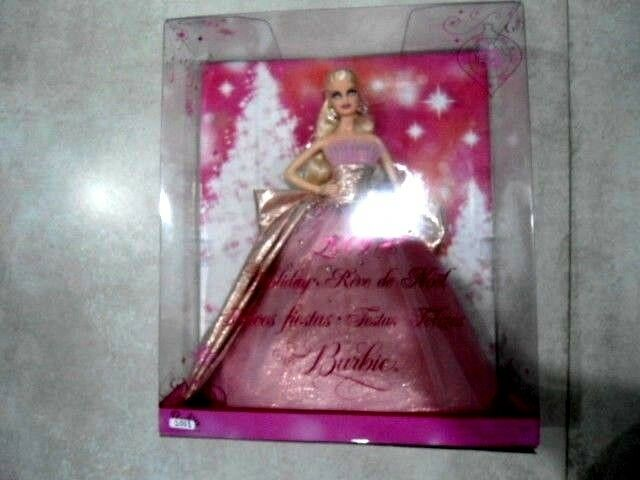 Barbie collector holiday,reve de noel 2009 50 aniversaire