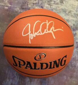 GFA Kentucky Wildcats Coach JOHN CALIPARI Signed Autograph Basketball J1 COA