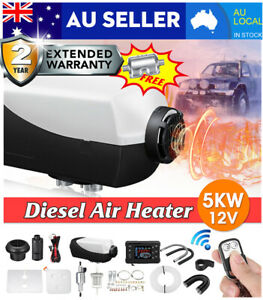 maXpeedingrods 5KW 12V Diesel Air Heater 10L Tank LCD Remote Control For Truck Trailer Boat