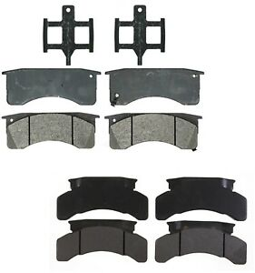 Details about Front and Rear Semi-Metallic Brake Pad Sets Kit ACDelco For  GMC Chevy T6500