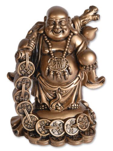 SCHUTZ GLÜCK GLÜCKSBRINGER BUDDHA MIT KUGEL LIEBE GLÜCKSFIGUR WEISHEIT