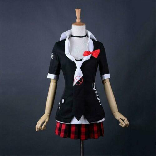 Girls Suit Dress Anime Danganronpa Cute Junko Enoshima Cosplay Costume Sets