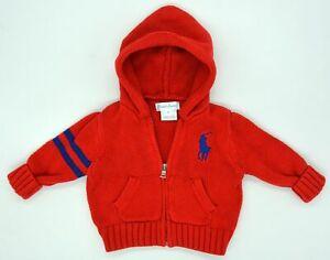 Edle Original Baby Strick Jacke von Ralph Lauren Größe 3M ...