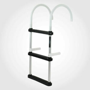 Menace Marine MENBA041 3 Step Folding Boat Ladder