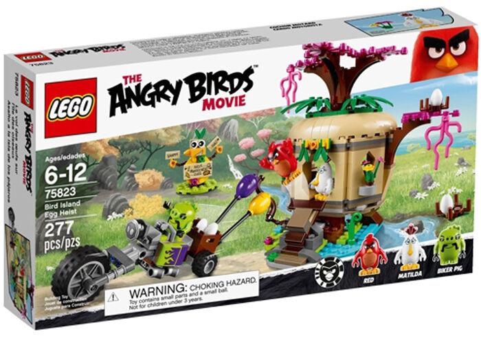 Lego the Angry  Birds Movie 75823 oiseaux Island œuf Heist (neuf scellé)  très populaire