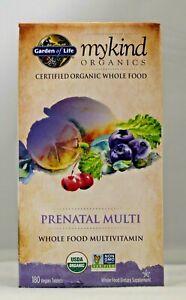 Garden Of Life Mykind Organics Prenatal Multi 180 Tablet Whole Food Multivitamin Ebay