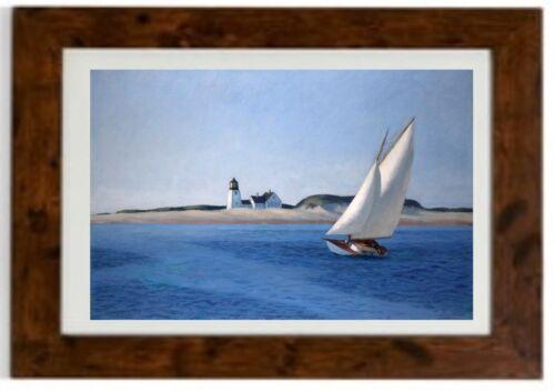 The Long Leg Framed Print  by Edward Hopper