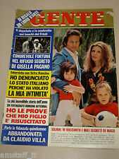 GENTE=1973/28=MAGO SILVAN=SYLVIE VARTAN=FERRUCCIO SOLERI=GISELLA PAGANO=