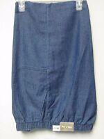 White Stag Women's Medium Denim Pull On Pants. Many Sizes