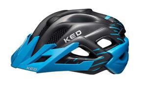Helme Radsport Junior Jugendhelm Kinderhelm Fahrradhelm blue black matt 49-54 cm KED Status jr