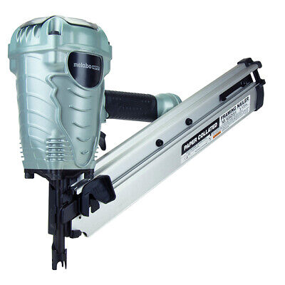 Metabo HPT NR90ADS1 2 in. to 3-1/2 in. Paper Collated Pneumatic Framing Nailer